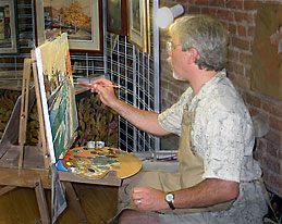 Stephen-painting-Port-Hope